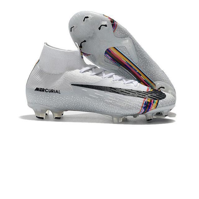 Best Seller ZISA Superfly VI Elite 360 FG Soccer Shoes Outdoor CR7 High ankle Football Boots