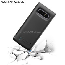 High Quality Case for Samsung Note 8 Battery Case Phone Charging Cover for Samsung Galaxy Note 8 Battery External Backup etui цена