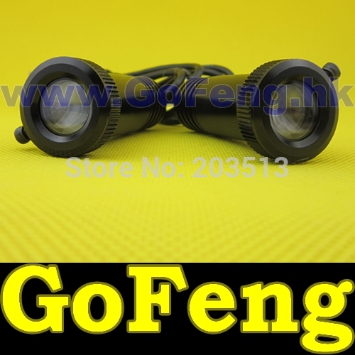5W 8-32V Aluminum alloy body LED car Welcome Lights laser lamp,high definition with 6 pcs lens!!!! Free shipping!!!
