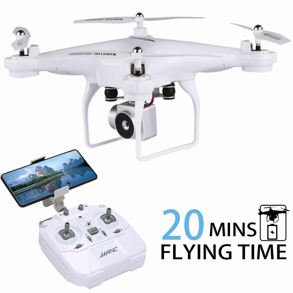 2018 ENCRIER drone rc quadrirotor JJRC H68 AVEC 720 P Wifi Caméra Hélicoptère rc 20 min temps De vol Drone professionnel Quadrocopter
