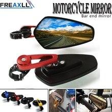 Universal Motorcycle Handlebar Rear View Side Mirror Rearview Mirrors FOR HONDA CBR 600 F2,F3,F4,F4i CBR900RR CBR1000RR CBR954RR стоимость