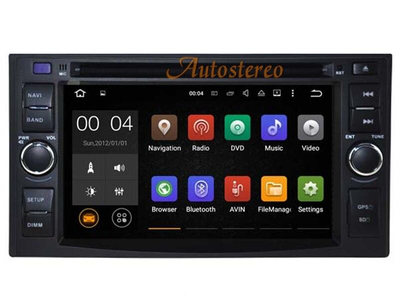 7 дюймов Android 7.1 Аудиомагнитолы автомобильные видео DVD плеер для Kia Cerato pro_ceed Ceed (2006-2009) спортивный
