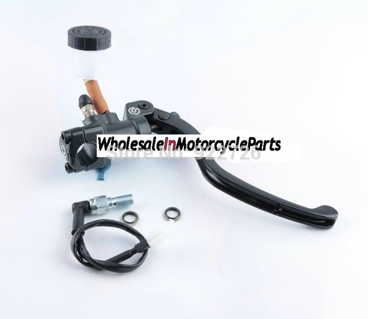 Free Shipping motorcycle Refit brake pump Front Brake Master Cylinder with Brake pressure switch