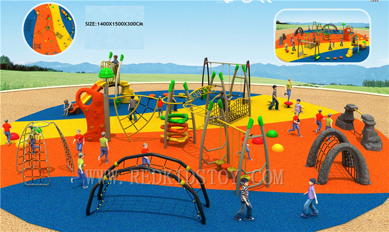Exported To Tanzania Customized Tuv Certificated Children Outdoor Playground Hz-g002 Buy One Get One Free Entertainment Playground