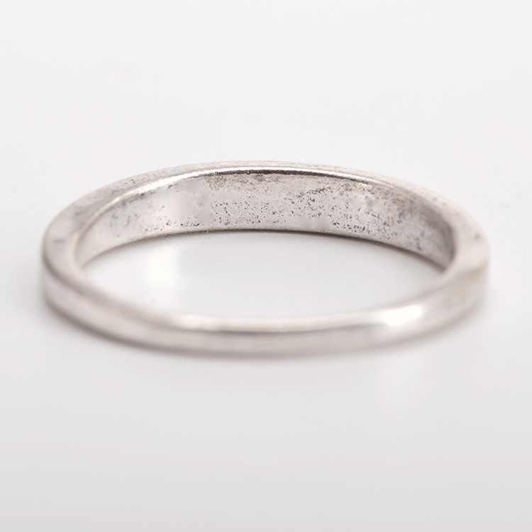 """Palabra """"mamá"""" Simple anillos de plata para mamá mujeres 5 tamaños"""
