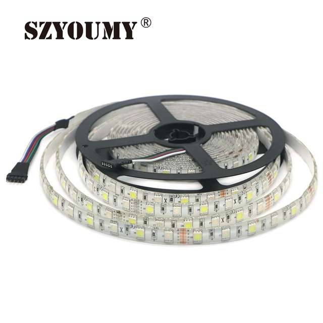 Szyoumy waterproof ip65 rgbw led strip lights 5050 smd rgb white szyoumy waterproof ip65 rgbw led strip lights 5050 smd rgb white mixed color led strip lighting aloadofball Images