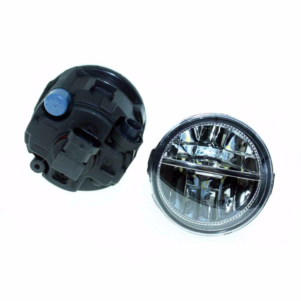 2шт для Nissan изгоев передний 2010-2011 2012 2013 2014 Fumper светодиодные противотуманные огни автомобиля стайлинг ДХО Н11 светодиодные лампы