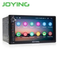 Joying 7″ Double 2 Din Android 6.0 Media Player Universal Car Radio Stereo Quad Core GPS Navigator Head Unit Steering Wheel