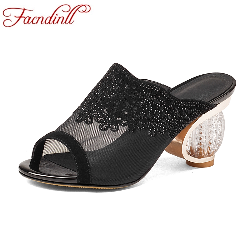 FACNDINLL fashion summer gladiator sandals women shoes new sexy high heels peep toe rhinestone shoes woman dress party sheos facndinll summer shoes women sandals