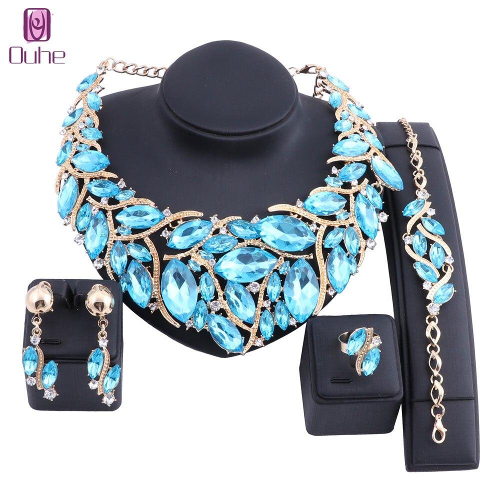 Aliexpress.com : Buy Women Bridal Costume Jewelry Sets ...