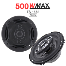 2Pcs 6 Inch 16cm 500W Car Coaxial  Auto Audio Music Stereo Loundspeaker Full Range Frequency Hifi Speakers for Vehicle