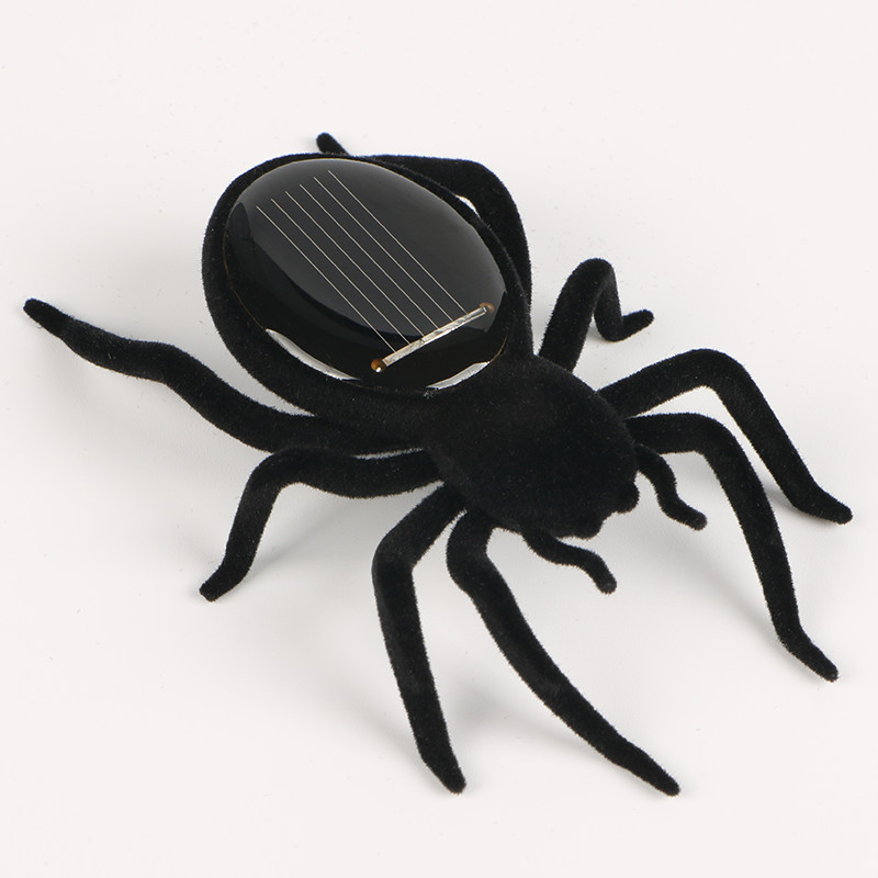 Automatic Solar Spider Tarantula Educational Robot Scary Insect Gadget Trick Toy Solar Toy Juegos Kids Toy Robot Toy G