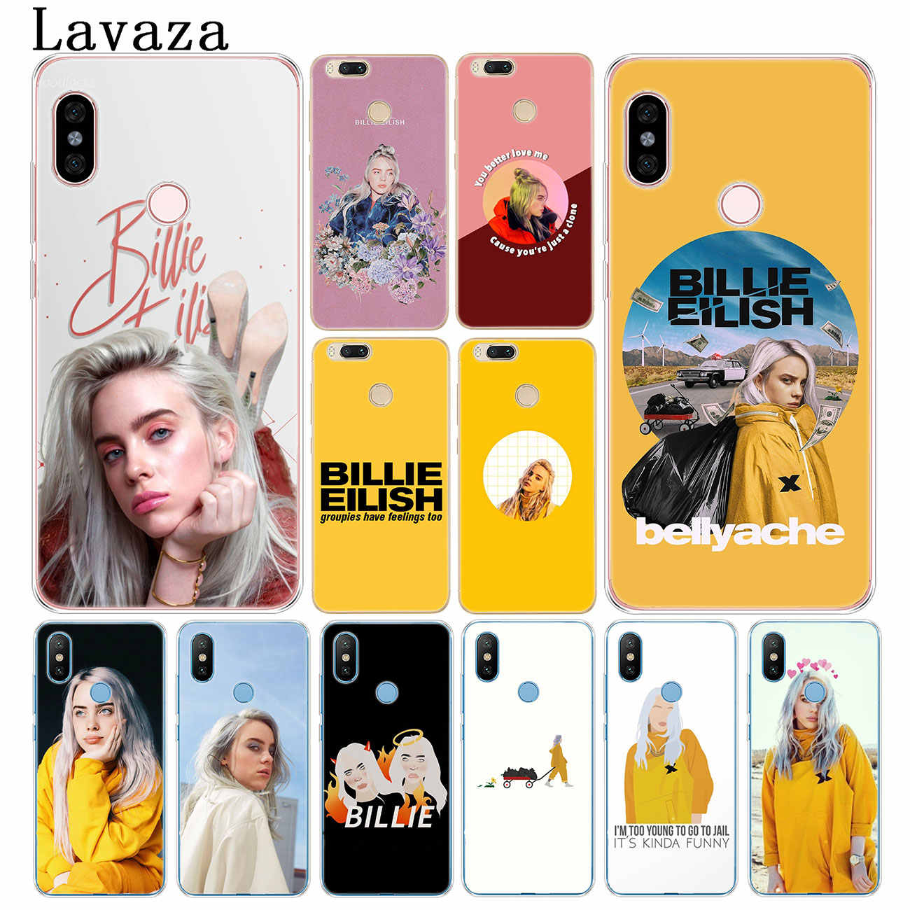 Чехол Lavaza Hot Billie Eilish Music Singer для Xiaomi Redmi K20 7A 6A 4A GO S2 Note 8 7 5 4X6 Pro Plus