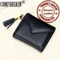 New Arrival Brand Genuine Leather  Credit Card Holders Fashion Style Card Wallet 5 Color Factory Price