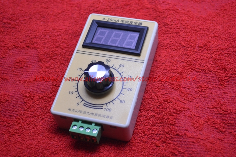 4-20mA Signal Generator Current Generator Constant Current Source Hand-held Digital Display Analog Generator