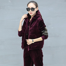 84258d5fbf Buy tracksuit velour and get free shipping on AliExpress.com