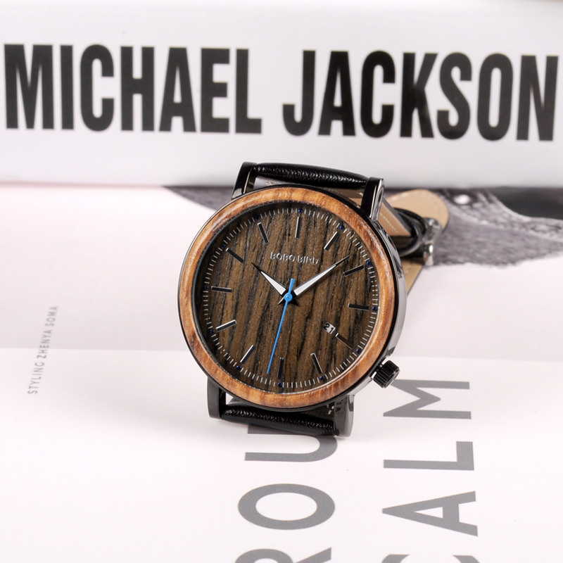 wooden watches  mens bobo bird luxury brand watches for men gifts (15)