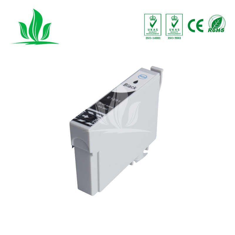 T1291 10 adet Uyumlu Mürekkep Kartuşu Epson Kartuşları için T1291 Mürekkep Kartuşu Stylus SX230 SX235W SX420W SX425W Yazıcı