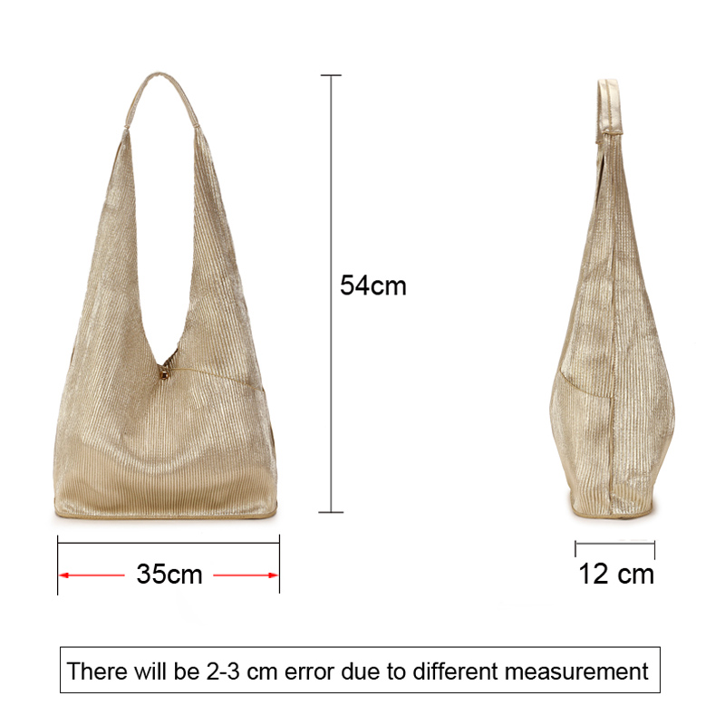 Silver Hobo Women Bag Fashion Leather Big Shoulder Bags Female Large  Handbag Ladies Tote Hand Bags for Women 2018 bolsos mujer-in Shoulder Bags  from Luggage ... a409c9269885d