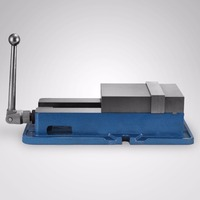 100% brand new clamping vise ACCU Lock Vise with 6 Inch Jaw Width Milling Drilling Machine Lock Down Vise Bench Clamp