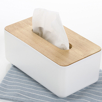 Oak Wooden Tissue Storage Boxes Home Decoration Items Car Napkins Boxes Home Daily Necessities