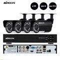 KKmoon 4CH 960 H D1 DVR 800TVL Камеры Системы Безопасности Водонепроницаемый 4 шт. ИК-Камеры Открытый Домашней Безопасности Системы ВИДЕОНАБЛЮДЕНИЯ комплект