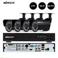 KKmoon 4CH 960H D1 DVR 800TVL Security Camera System Waterproof 4pcs IR Camera Outdoor Home Security CCTV System Kit