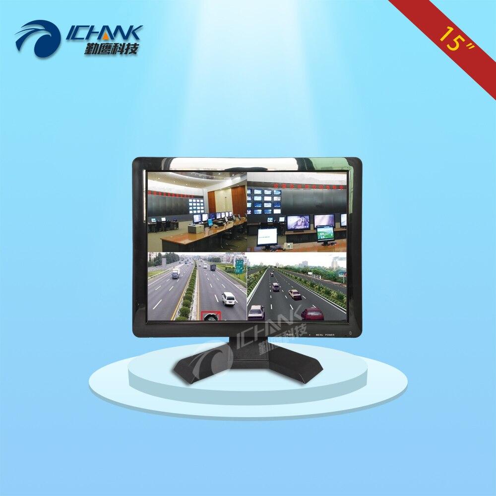 ZB150JN B4V 15 inch 1024x768 HD Four BNC VGA Split Screen Remote Control Security Community Monitoring