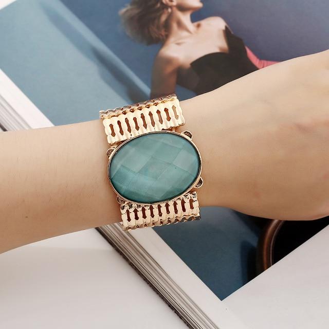 Find me 2017 marque de mode d'été vintage courbe ethnique bracelet manchette punk boho déclaration lettre bracelet bracelet femmes bijoux