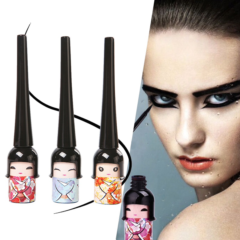 2015 NEW Women Beauty Eye Care Cute Black Waterproof  Liquid Eye Liner Pen Makeup Cosmetic M01147