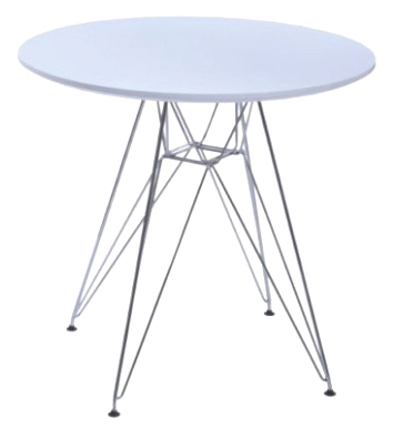 Metal Legs Dining Roundtable Negotiation Table Leisure Table Eames Wire Table  Eames Round DSR Table
