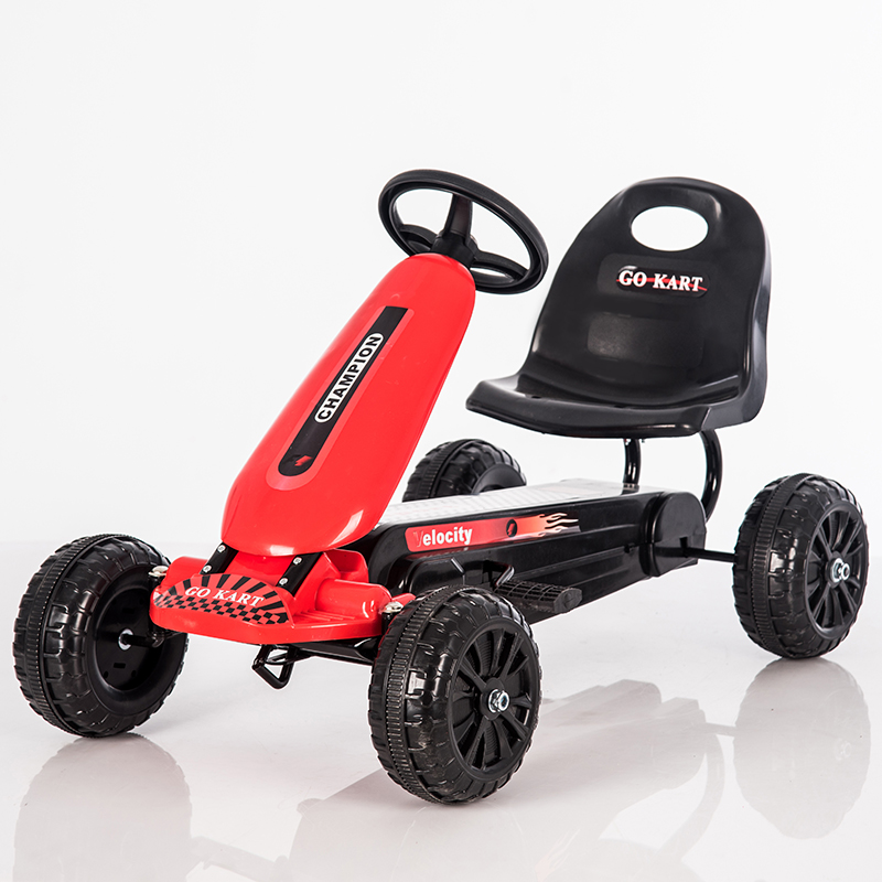 Kids Pedal Go Kart With EVA Solid Wheels
