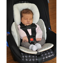 2016 Newborn Baby Full Head&Body Support Stroller Pillow for Car Seat Pram Liner Reversible Suitable for any car seat harness