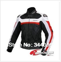 2013 The New Cool KOMINE JK 021 The Titanium Leather With Mesh Racing Suits Motorcycle Clothing