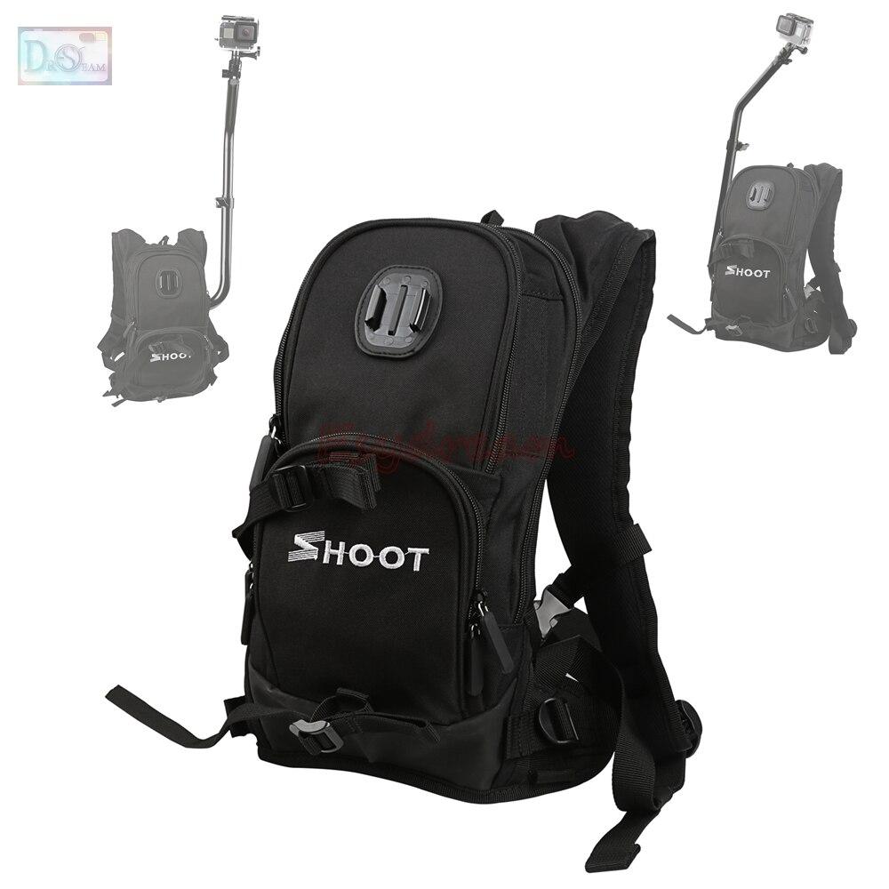 Vélo ski moto Selfie sac à dos montage rapide sac de sport pour GoPro Go Pro 5 4 3 + 3 XiaoYi SJCAM caméra d'action