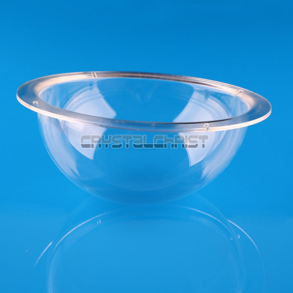 6 Inch Indoor / Outdoor CCTV Replacement Clear Acrylic Camera Dome Housing For Free Shipping