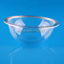 цены 6 Inch Indoor / Outdoor CCTV Replacement Clear Acrylic Camera Dome Housing For Free Shipping