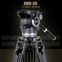 XILETU XMV 30 Professional Film and Television Tripod and Head For Sachtler Video Recorder Movie and TV play