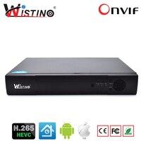 Wistino CCTV NVR 4CH 8CH 4MP Network Video Recorder IP Camera H 265 HDMI VGA Video
