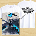 Hatsune Miku Nendoroid Black Rock Shooter T shirt Blade Miku T-shirt Hot Sale Anime Tshirt dimension Cool men women Top Tees