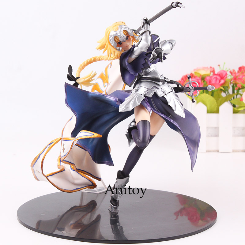 Fate/Apocrypha Ruler Jeanne D'arc Figure PVC Joan of Arc Figure Fate Grand Order Jeanne Fate Figurine Collectible Model Toy huong anime figure 20 cmfate stay night fate zero apocrypha joan of arc pvc action figure toy model collectibles