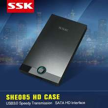 NEW SSK SHE085 USB 3.0 HDD Enclosure SATA for 7/9.5/12mm 2.5» SATA HDD Up to 5.0 Gbps Hard Disk Box External HDD Case OTB