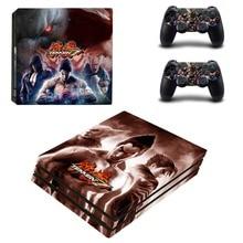 Game Tekken 7 PS4 Pro Skin Sticker Vinyl Decal