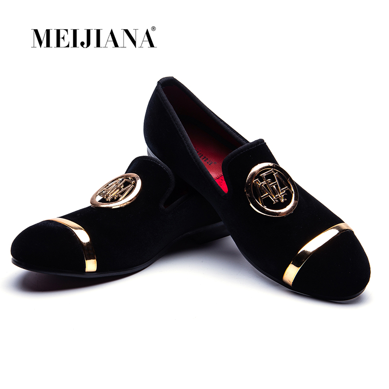 MEIJIANA Cow Suede Loafers Mens Topsiders Flats Shoes Slip On Dress Party Wedding Shoes New Luxury