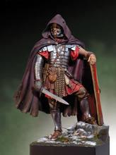 Unpainted Kit 1/18 90mm Roman Legionary ancient Dacian Wars with base 90mm Resin Figure miniature garage kit(China)