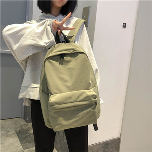 Image 2 - DCIMOR nowy wodoodporny nylonowy plecak damski Japan Style Solid Color Mochila Feminina Mujer torba podróżna tornister dla nastolatki