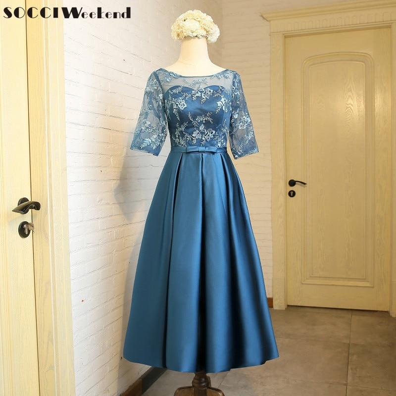 SOCCI fin de semana elegante vestido de noche 2017 té de la vendimia - Vestidos para ocasiones especiales