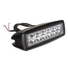 18 W 6 CONDUZIU a lâmpada de trabalho da lâmpada 1620lm site projetor local caminhão reboque off road ATV