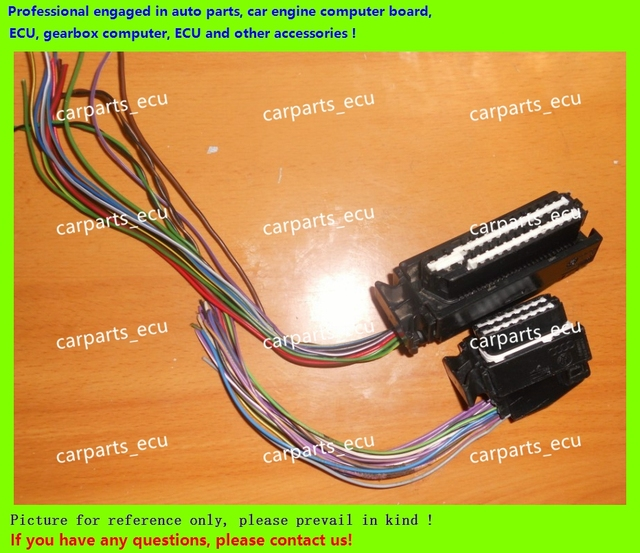 us $30 0 electronic control unit accessories ecu connector 80 pin connector 80 pin plug wiring harness connecor not brand new, belonging in car pc Computer Control Module