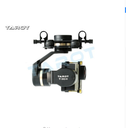 F17391 Tarot TL3T01 Update from T4 3D 3D Metal 3 axle Brushless Gimbal for GOPRO 4 / 3+/ 3 FPV Photography - 2